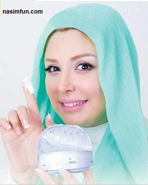 عکس نیوشا ضیغمی بعنوان مدل آرایشی!!!+عکس