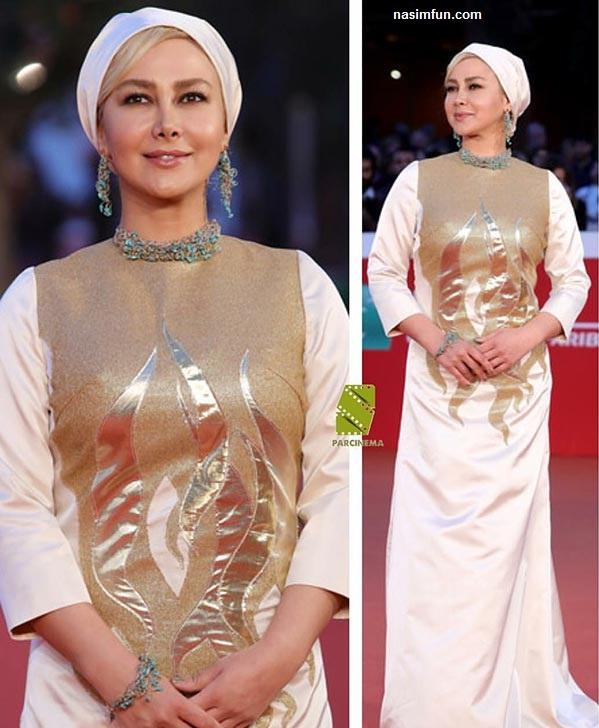 عکس های جدید آنا نعمتی روی فرش قرمز جشنواره فیلم رم!!+عکس