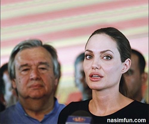شیخ میلیونرعرب عشق آنجلینا جولی بعد از برد پیت!!!+عکس