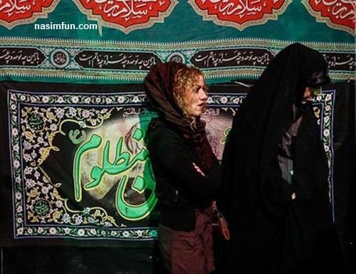 بی حجاب و بدحجابی دختران وزنان در مرا سم های عزاداری شب های محرم 95!!+عکس