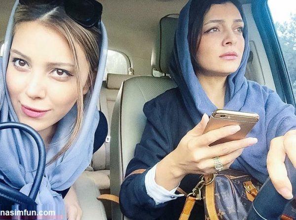 سلفی جدید سروین بیات وخواهرش ساره!!!+عکس