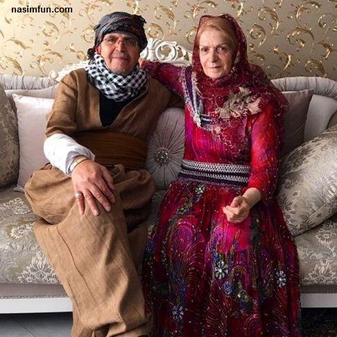عکس جدید ودیدنی پدر و مادر بهنوش طباطبایی!!!+عکس