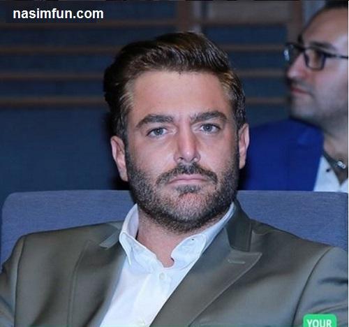 عکس جدید محمدرضا گلزار با تیپ جدید ومتفاوت در مقابل رستورانش!!