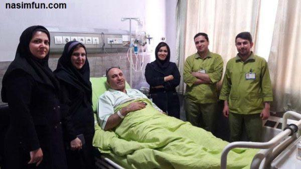 علت بستری شدن حمید فرخ نژاد دربیمارستان!!+عکس