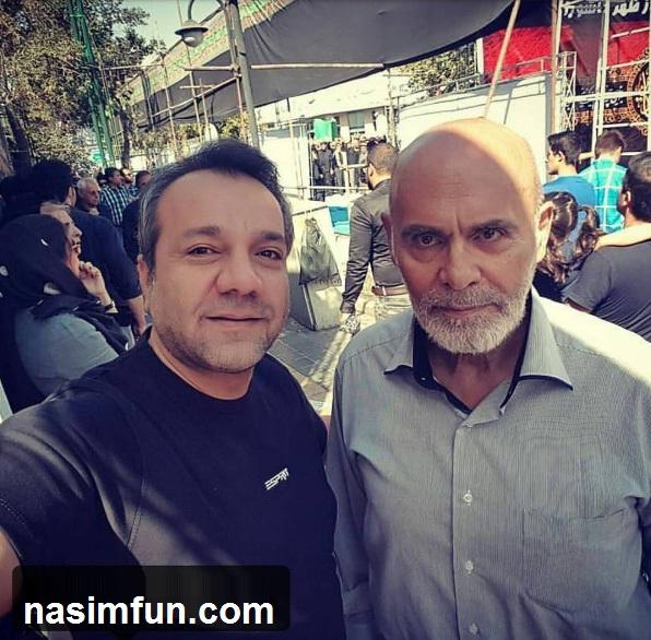 جمشید هاشم پور در نماز ظهر عاشورا!!+عکس جدید