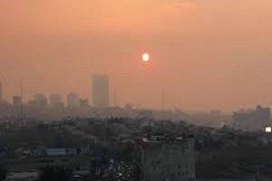 هوای اصفهان رنگ خون گرفت!!!+عکس