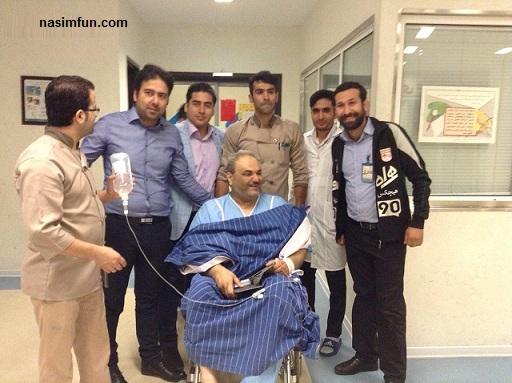 آخرین وضعیت جواد خیابانی در بیمارستان!!!+عکس