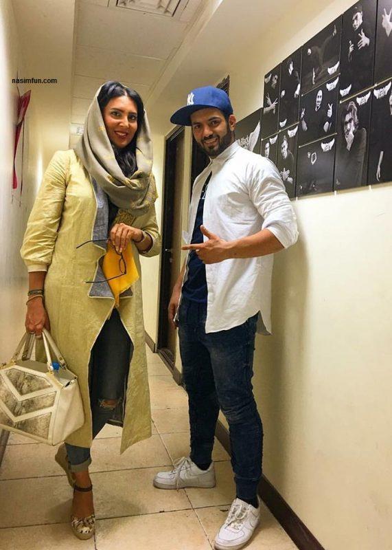 عکس جدید لیلا بلوکات در یک کنسرت با شلوار پاره!!!