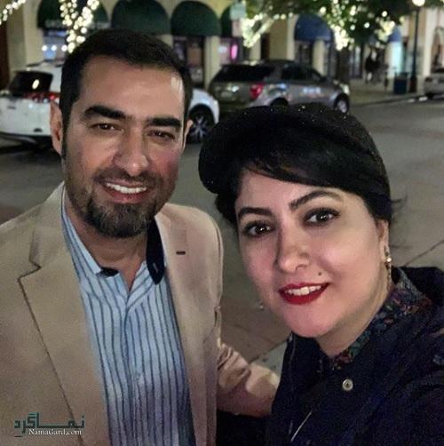 عکس مریم بلالی مقدم در کنار شهاب حسینی