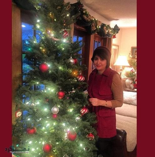 مریم بلالی مقدم کریسمس 2016