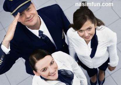 رابطه جنسی  مهماندارمتاهل زن با خلبان ها در هواپیما!!+عکس