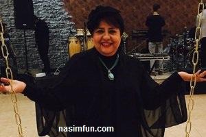 بازگشت رابعه اسکویی بازیگرپیوسته به شبکه ی ماهواره ای جم  به ایران!!!+عکس