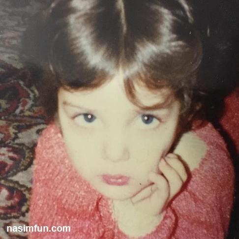 عکس چهره بامزه لیلا اوتادی در دوران کودکی!!+عکس