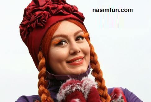 گریم متفاوت وعجیب سحر قریشی در فیلم جدید اش!!+عکس