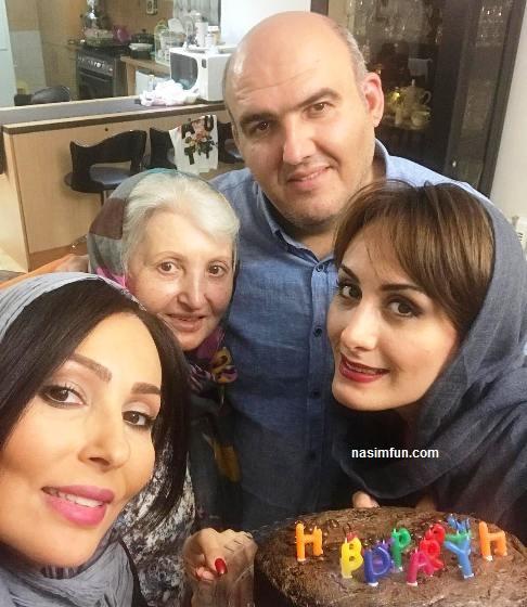 عکس جشن تولد 39سالگی پرستو صالحی!!+عکس