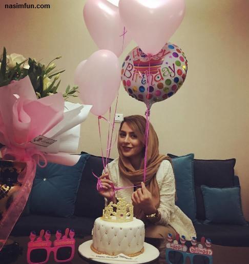 عکس جشن تولد 29سالگی سمانه پاکدل!!+عکس