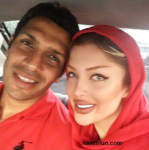 تبریک عاشقانه ی سپهر حیدری به همسرش!!+عکس