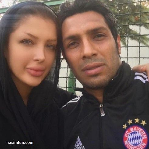 عکس جدید سپهر حیدری و همسرش در مراسم تاسوعا و عاشورا!!!+عکس