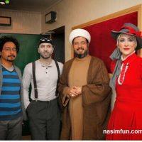 روحانی معروف درکنار ویشکا آسایش!!+عکس