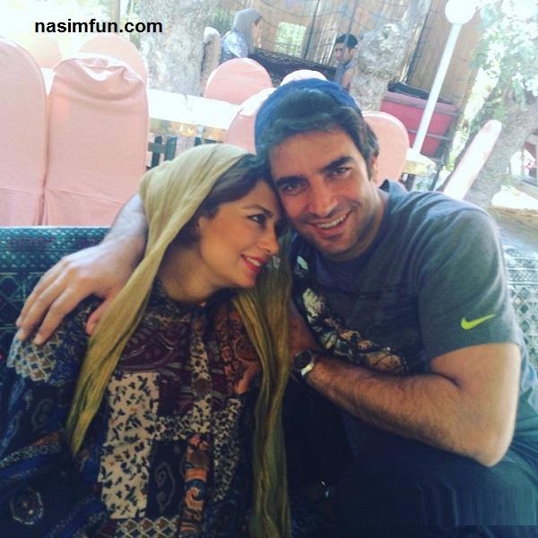 عکس عاشقانه ی یکتا ناصر و همسرش منوچهر هادی!!+عکس