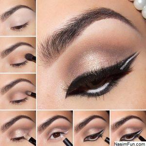 مدل های پاییزه آرایش چشم