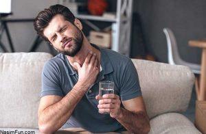 دمنوش درمان خلط گلو