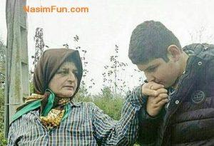 سیلی خوردن زن فومنی از مامور شهرداری