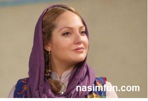 عکسی از گریم عجیب وحشناک مهناز افشار!!!+عکس