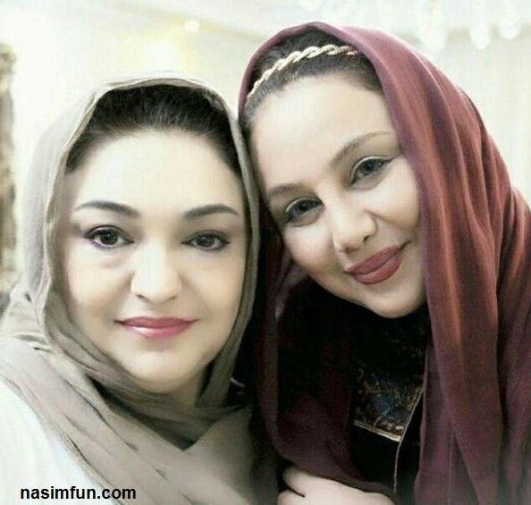 عکس شباهت بهنوش بختیاری وخواهرش بهناز!!!+عکس