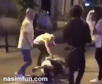 فیلم حمله ی دوست دختر مردمتاهل به زنش فرزندانشان باعث وحشت فرزندانش !! + عکس