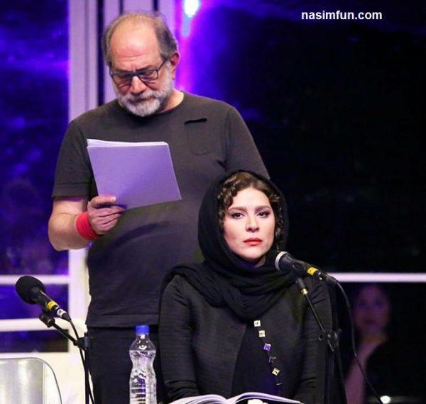 جدیدترین عکس های سحر دولتشاهی در نمایشنامه خوانی مو !!! +عکس