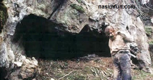 سرشماری پیرمرد غارنشین !!! +عشق نگار اورا غارنشین کرد !!