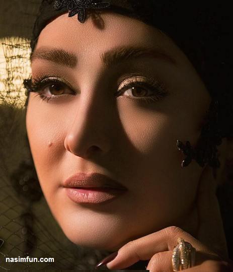 جدیدترین عکس های الهام حمیدی بعنوان مدل آرایشی !!! + عکس