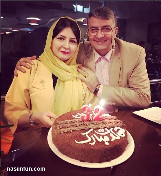 عکس جدید مستربین ایران حمید ماهی صفت در تولد دخترش !!! + عکس