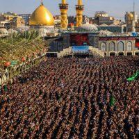 تصاویری از نماز جماعت باشکوه در بین الحرمین !! + فیلم وعکس