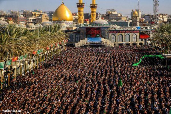 تصاویری از نماز جماعت باشکوه در بین الحرمین !! + عکس