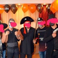 دستگیری پسران ودختران تهرانی در پارتی مختلط هالووین !!!+عکس