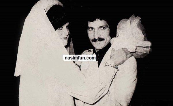 عکس عروسی منصور پورحیدری وهمسرش !!! + عکس