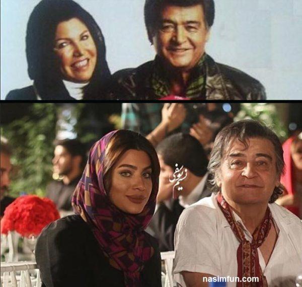 عکس همسر اول و دوم رضا رویگری دریک قاب !!! + عکس