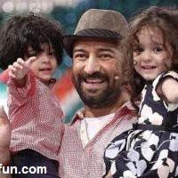 شباهت عجیب مجید صالحی وپسرش !! + عکس