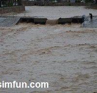 غرق شدن دو دانشجو در سیلاب خرم آباد !!! + عکس