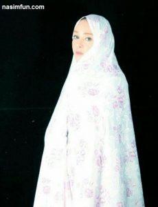 عکس شهره قمر با چادر درنقش همسر یک روحانی !!! + عکس جدید