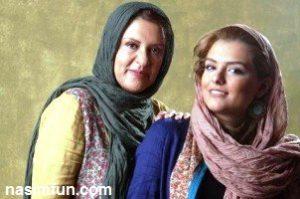 عکس جدید رویا تیموریان بازیگر زن کشور در کنار دخترانش !! + عکس
