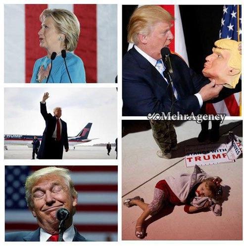 ترامپ رئیس جمهور شد