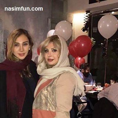 عکس جدید نیوشا ضیغمی در کنار خواهرش روشا !!! + عکس
