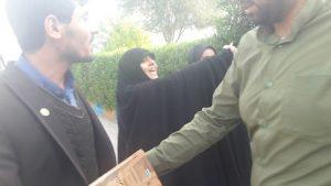 کشیدن چادر از سر دختر دانشجو !! + اقدام زشت با دختر دانشجو !!