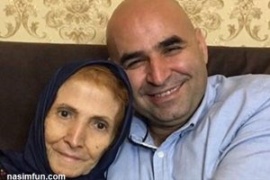علی مسعودی کمدین خندوانه برسر مزار مادرش !! + عکس