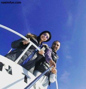عکس جدید امین زندگانی و همسرش درترکیه !! + عکس جدید