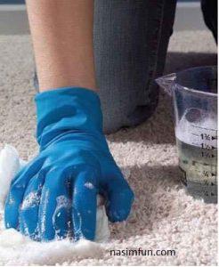 چگونه فرشهای خودرا تمیزکنیم؟