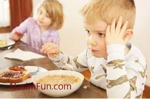 غذای تهدید کننده سلامت کودکان